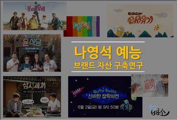 나영석 예능 브랜드 자산 구축과 활용, 꽃할배에서 알쓸신잡까지