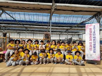 용두초병설유치원 '바른 식생활' 체험 활동