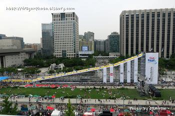 2018 평창동계올림픽 도심속 봅슬레이, 광화문광장