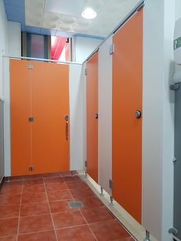 HPM 화장실파티션 큐비클, 장애인 접이식 화장실칸막이 경북 영덕