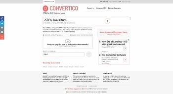 [Tip] 간편하게 파비콘 만들기, CONVERTICO