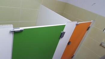 서울 강서구 어린이집 큐비클 유치원 화장실칸막이 하부장