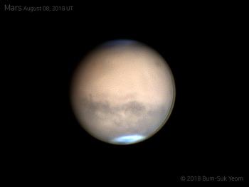Mars 화성 2018-08-08