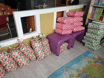 2018년 성탄 선물과 떡