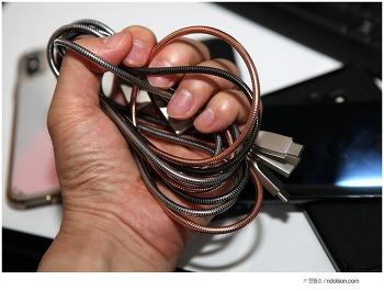 오토존 USB-C 3A 고속충전 케이블, 단선 없는 메탈케이블