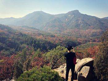 가을 단풍여행 관악산 등산코스 연주대 다녀왔다