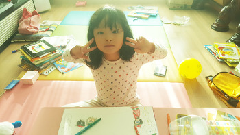 #박연우 그림그리기, 자장면 냠냠