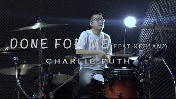 "Charlie Puth(찰리푸스) - Done for me""Feat.Kehlani""(돈포미""피처링.킬라니"") Drum cover by ROP"