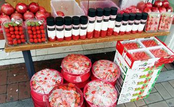 부산대 명품 생과일주스 전문점 딸기천국 반디나무 생딸기우유 [먹진남자]