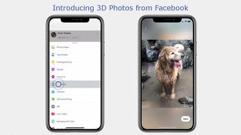 세로로 촬영한 사진을 3D 사진으로 만들어주는 페이스북 기능