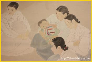 <김기창과 박래현> 국립 현대 미술관 : 근대를 수놓은 그림