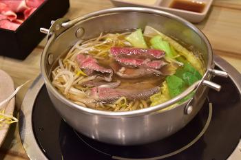 부산 센텀시티 맛집 추천 스시오샤브앤스시 센텀점 두 종류의 음식을 맛나게!