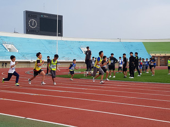 제35회 교육장기차지육상경기대회 개최