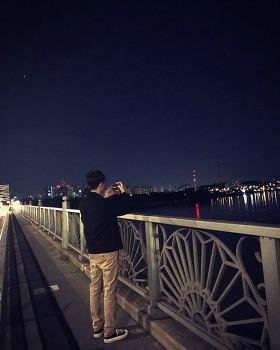서울 야경 바라보며 양화대교 산책했던 날