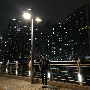 부산 더베이101 야경을 보고 오다.