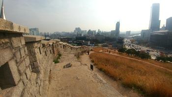 서울성곽 한바퀴 돌기(동대문 성곽공원)