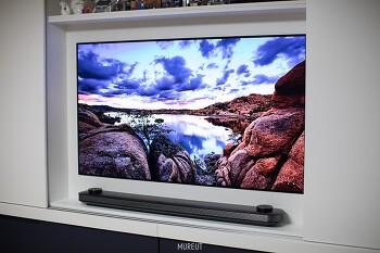 LG 시그니처 65인치 월페이퍼 TV OLED65W7K 유저 사용기 - 기기