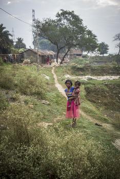 콜카타(Kolkata)의 겐지스강가 마을에서 photo play. by 포토테라피스트 백승휴