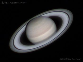 Saturn 토성 2018-08-03