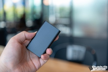 SSD외장하드, 소니 SSD SL-EG2 개봉기와 특징