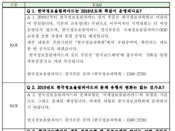 한국코드페어(KCF) 지역설명회 자료가 올라와서 공유해 봅니다.
