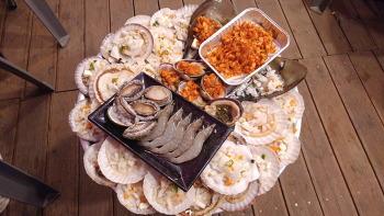 태종대 조개구이 맛집 , 감지해변 자갈마당 욜로(yolo)