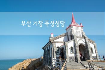 부산 기장 죽성성당, 시원한 바닷바람 가득 불어오는 곳
