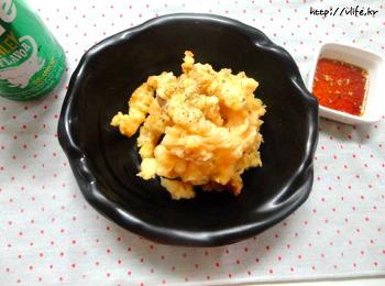 황태채 북어채 튀김, 안주 간식으로 안성맞춤