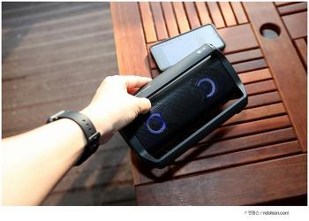 LG 포터블 스피커 LG XBOOM GO 엑스붐고 여행가서 신나게!