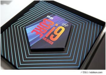 인텔 9세대 i9-9900K CPU 성능 및 조립 후기