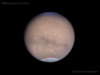 Mars 화성 2018-08-03