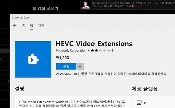 HEVC Video Extensions