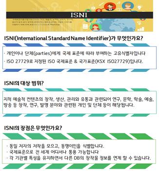 [31호] ISNI가 무엇인가요?