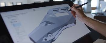 내가 그린 스케치가 3D 모델로 탄생한다면? 와콤 신티크 프로 X Mike Shultz