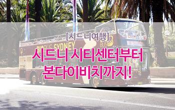 [시드니여행] 11월 특별이벤트! 시드니빅버스 - 무료워킹투어(영어)!
