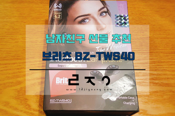 남자친구 선물 추천 브리츠 BZ-TWS40