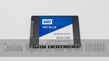 WD BLUE 3D SSD 250GB 리뷰 #6 HDD와 SSD 비교
