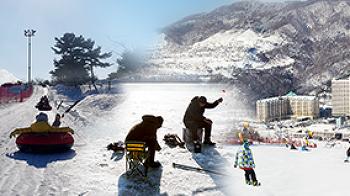 국내 겨울 여행지10 집에서 나와야 하는 겨울 스포츠