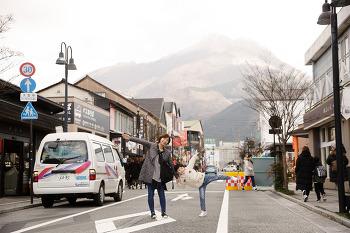 후쿠오카 유후인 긴린코 호수와 번화가 구경