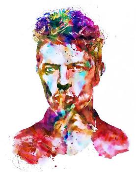 [285] 데이빗 보위(David Bowie)를 그리다