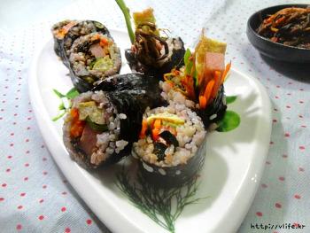 고들빼기 김밥, 어른들을 위한 쌉싸름한 김밥