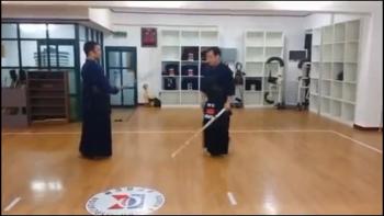 [동영상] 검도 돌려서 머리