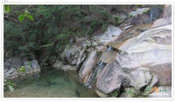 북한산 백운대, 밤골공원지킴터 들머리로 숨은폭포 지나 등산