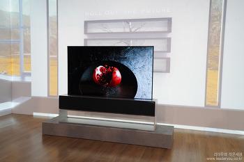 인공지능으로 더 강력해졌어요. 2019 LG TV 신제품 미디어 데이 - LG 롤러블TV, 88인치 8K 올레드TV, LG 올레드TV AI ThinQ 65E9, 65B9, 65C9