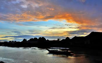 베트남 메콩강 일몰과일출 7ㅡ4