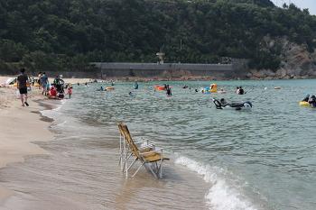 [강원도 여행] 바닷물이 투명한 강원도 삼척 용화해변