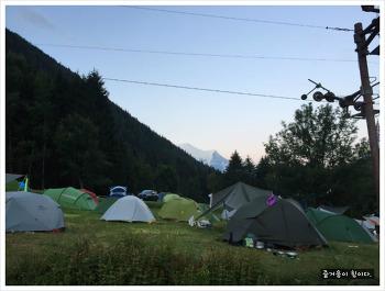 [그냥 떠난 여행-유럽]4. 프랑스 샤모니 몽블랑에서의  캠핑