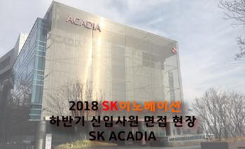 2018 SK이노베이션 하반기 신입사원 채용: SK이노베이션 면접