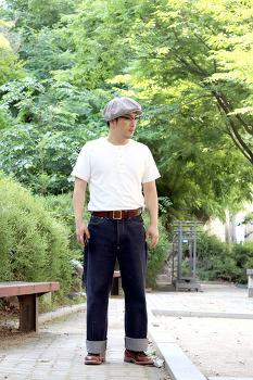 추석 남자 패션 atlast&co 통큰바지 워크웨어 코디