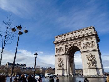 아들과 함께 한 서유럽 여행. 첫 날은 프랑스 파리에요